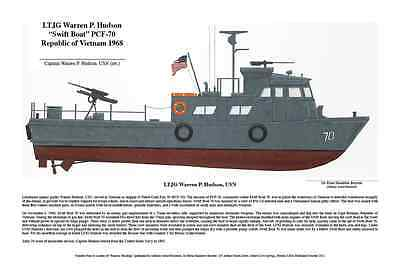 Vietnam Tribute, Swift Boat, Helo's, John McCain, Robin Olds, Artist; Boyette for sale  Shipping to South Africa