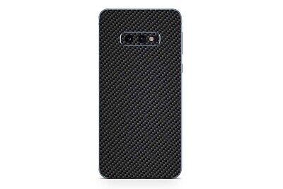 Samsung Galaxy S10 Skin Design Aufkleber Sticker Schutzfolie Carbon Look Skin Design Schutzfolie