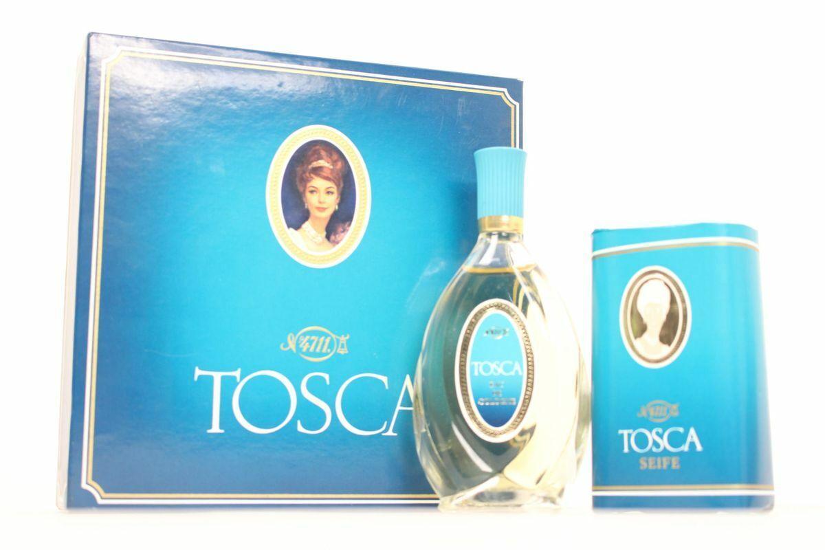 4711 Tosca Eau de Cologne 25ml Nr. 1252 Tosca Luxus Seife 100g Duoset für Damen