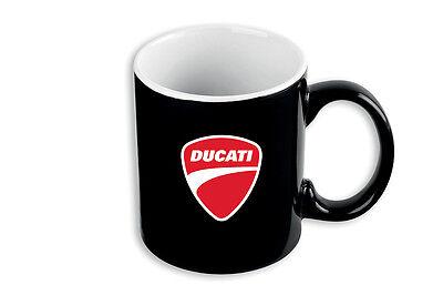 Genuine Ducati Tea / Coffee Black Mug New 2016 Design Just Arrived 987694008