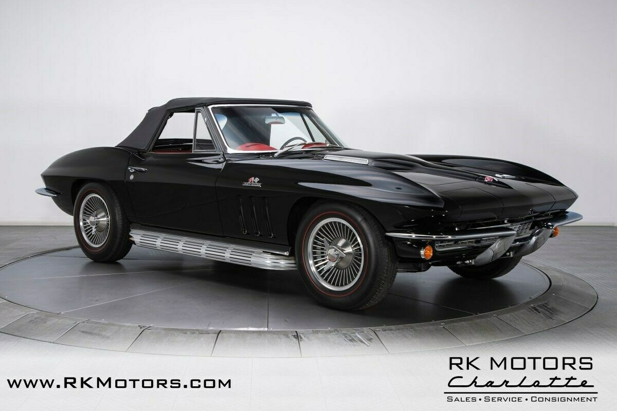 1966 Black Chevrolet Corvette   | C2 Corvette Photo 10