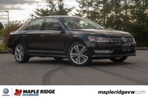 2015 Volkswagen Passat - V-6, LEATHER, SUNROOF