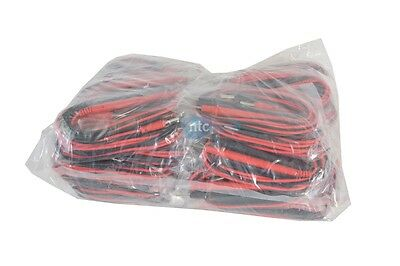 New Lot Of 50 Test Leads For Multimeters Dmm Probe Set Probes Banana