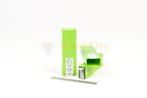 "Grex 21 Gauge Galvanized Brad Nails Pins H8/12L 1/2"" Inch 5,000 Per Box"