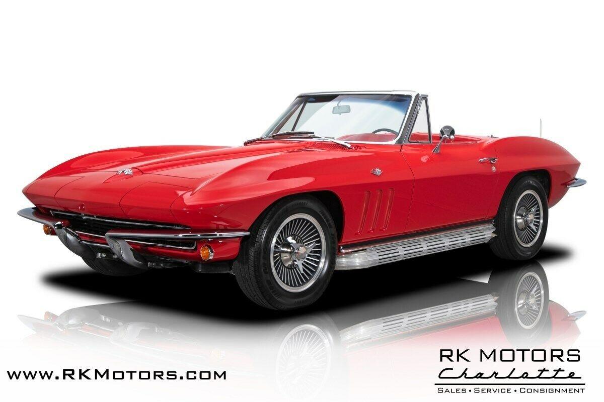 1965 Red Chevrolet Corvette   | C2 Corvette Photo 1