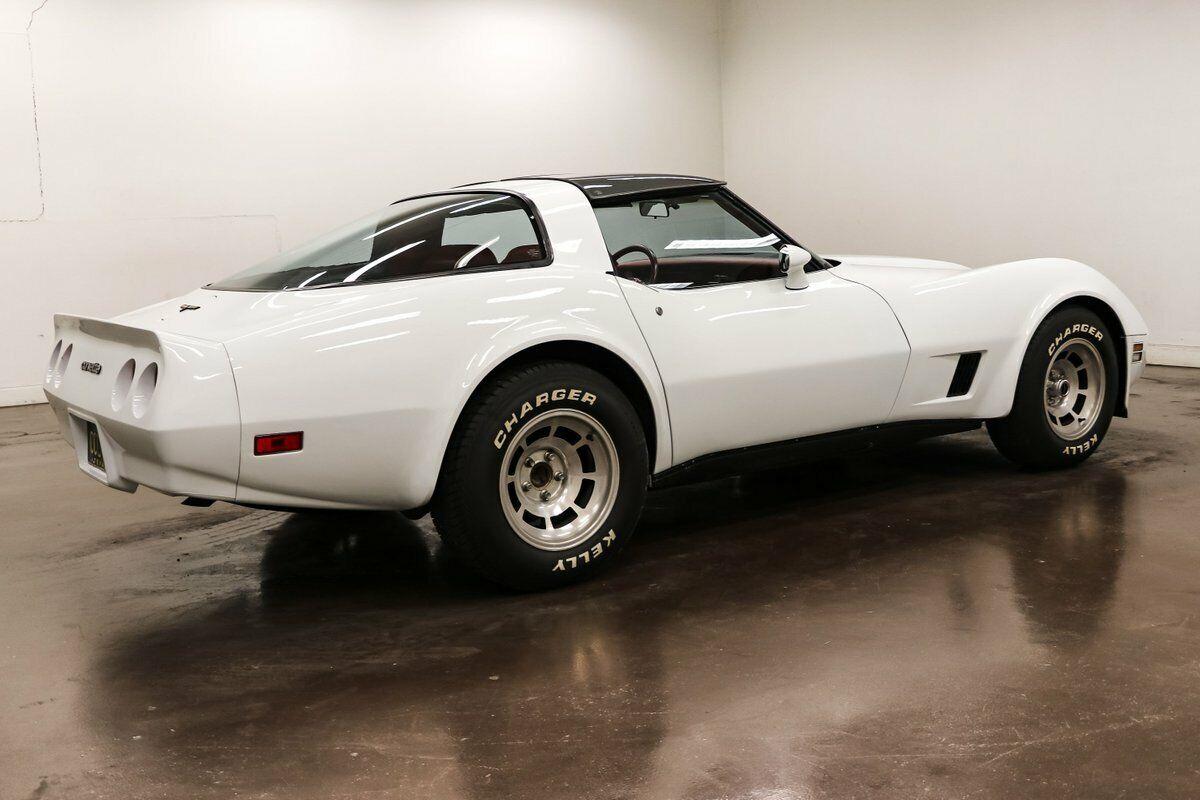 1981 White Chevrolet Corvette   | C3 Corvette Photo 7