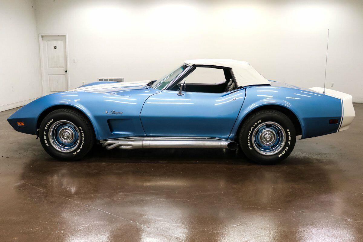 1974 Blue Chevrolet Corvette     C3 Corvette Photo 8