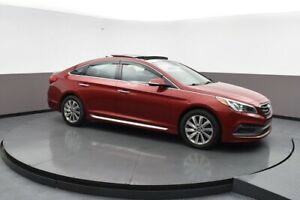 2015 Hyundai Sonata SPORT SEDAN w/ ALLOYS, PANORAMIC SUNROOF, BL