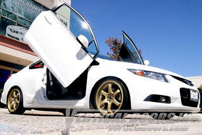 Civic Vertical Doors - Honda Civic 2006 2007 2008 2009 -2015 Vertical doors inc. bolt on lambo door kit
