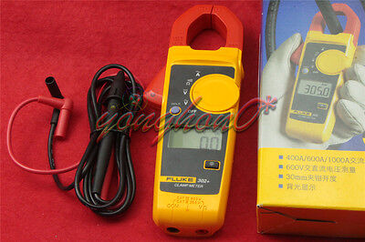 Fluke 302 Digital Clamp Meter Acdc Multimeter Electronic Tester F302 New
