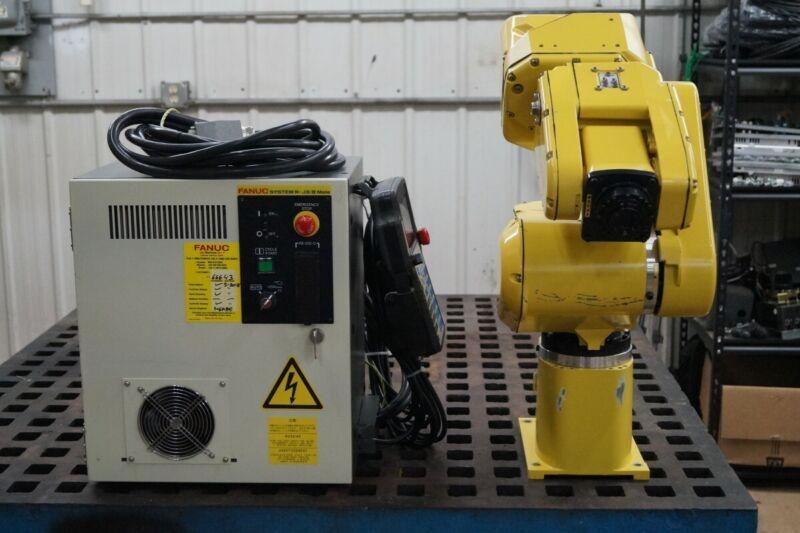 Fanuc LR Mate 200iB Robot w/ R-J3iB Control TESTED VIDEO 6 MONTH WARRANTY