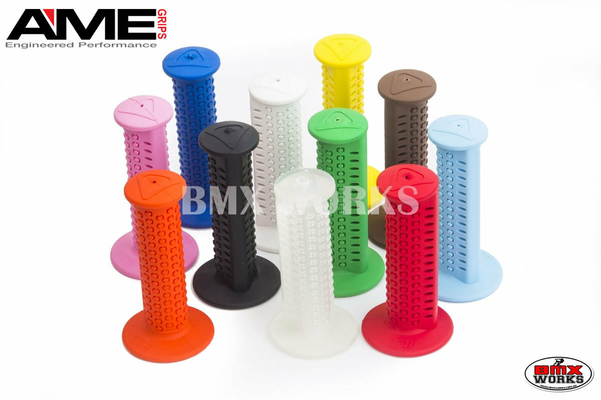 AME Round Grips Available In Various Colours Suit Vintage /& Old School BMX