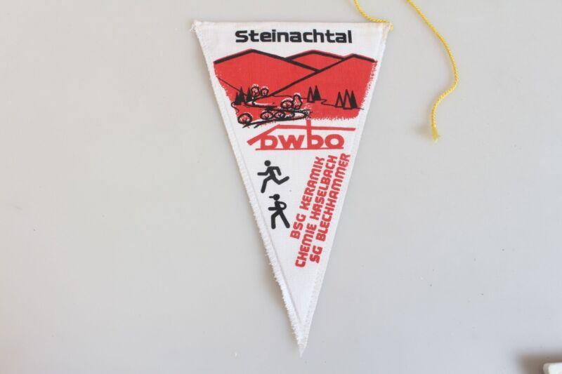 Original Vintage Pennant GDR Steinachtal Dwbo Haselbach Chemie BSG Ceramic 70er