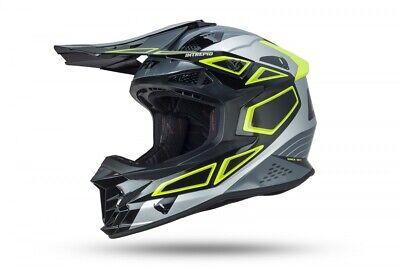 Casco Moto Enduro Cross UFO Intrepid Tamaño XL Offroad Quad Atv MTB...