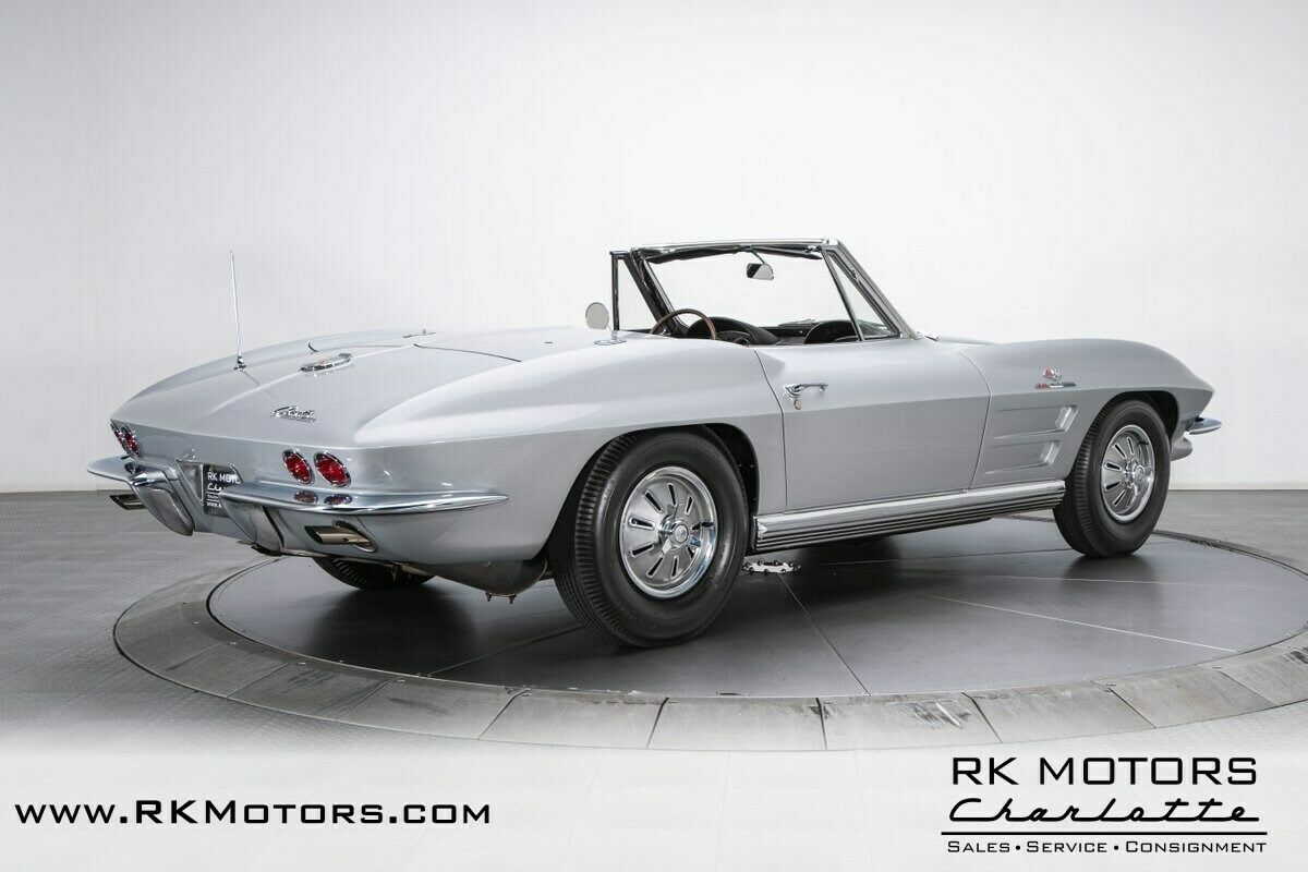 1964 Silver Chevrolet Corvette   | C2 Corvette Photo 2