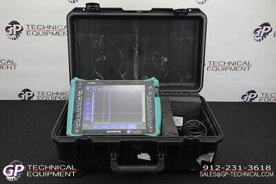 Olympus Omniscan Mx2 3232 Phased Array Flaw Detector - Panametrics Krautkramer