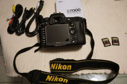 NIKON D7000 + LENSES AND ACCESSORIES  (price drop) Hassall Grove Blacktown Area Preview