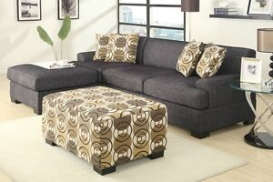 FREE PERTH METRO DELIVERY**LINEN LOOK CHAISE SOFA FREE CUSHIONS Bayswater Bayswater Area Preview