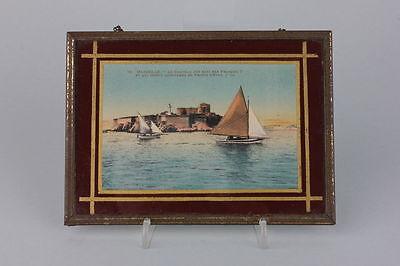Souvenir de Marseille  Hinterglasansicht, 1920er Jahre