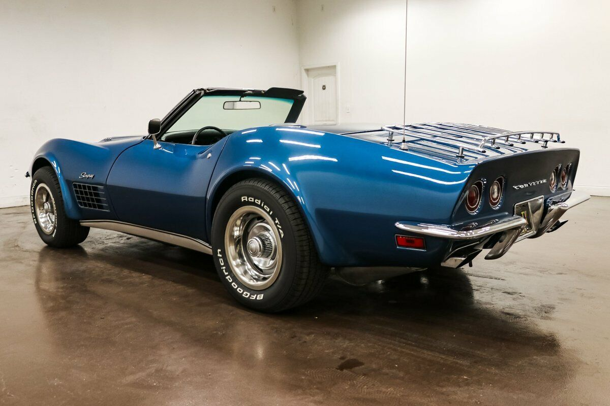 1970 Blue Chevrolet Corvette Stingray  | C3 Corvette Photo 7