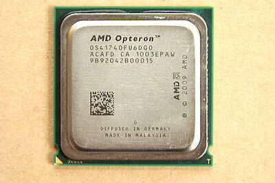 AMD 2.3GHz Six Core Opteron 4174HE (50W) OS4174OFU6DGO Socket C32 Lisbon CPU