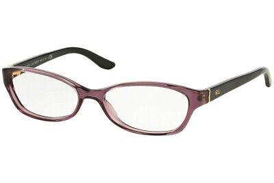 Ralph Lauren RL 6068 5158 Eyeglasses Frames Crystal Violet / Black 53-15-130