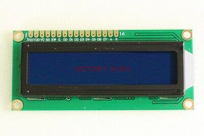 2x Hd44780 Lcd Module 1602 16x2 Character Blue Led Usa