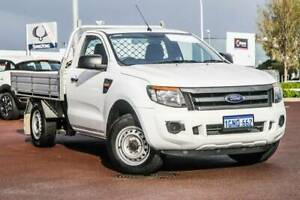 2014 Ford Ranger XL PX 2.2 Turbo Diesel 6 sp Manual  Cab Chassis Rockingham Rockingham Area Preview
