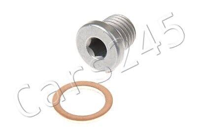Genuine Screw Plug + Gasket Ring SET BMW Hybrid M3 M6 X1 X3 X5 Z3