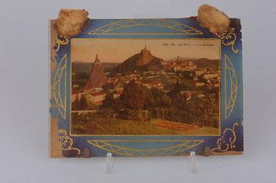 Souvenir de Le Puy Hinterglasansicht, um 1900