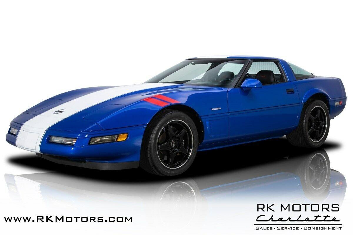 1996 Blue Chevrolet Corvette Grand Sport    C4 Corvette Photo 1