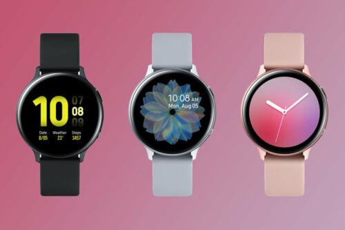 Samsung Galaxy Watch Active 2 40mm Bluetooth GPS Aluminum Black Silver SM-R830