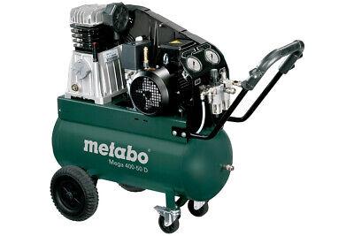 Metabo Kompressor Mega 400-50D 400 l/min 10 bar 2,2 kW 50l Ölgeschmiert Regelbar