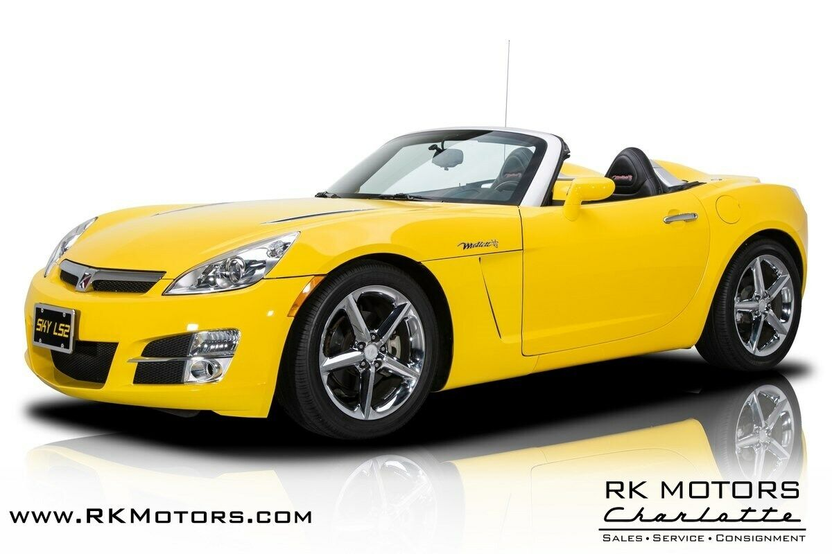 2007 Saturn Sky Mallett LS2 Sunburst Yellow Convertible LS2 6.0L V8