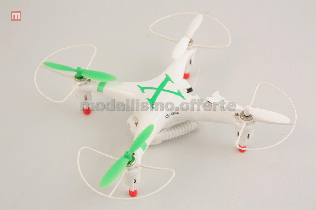 Quadcopter CX-30W Drohne Cam Wifi 2 Batterie Gebraucht Geprüft Modell