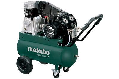 Metabo Kompressor Mega 400-50W 400 l/min 10 bar 2,2 kW 50l Ölgeschmiert Regelbar