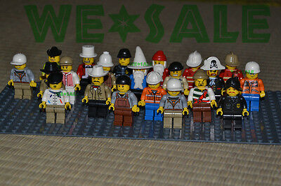 20/Lots Random Men People Minifigures Building Toys Minifigs Grab Party Bag Gift
