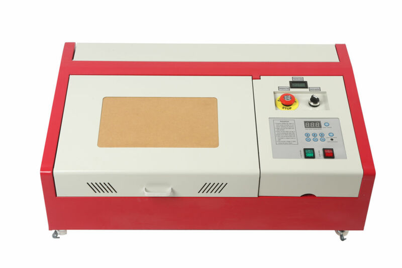Update Laser 40W CO2 USB Engraving and Cutting Machine + 4RADS