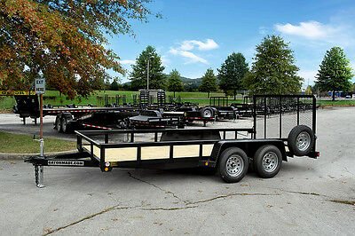 New Gator 16 Ft. Landscape Utility Trailer