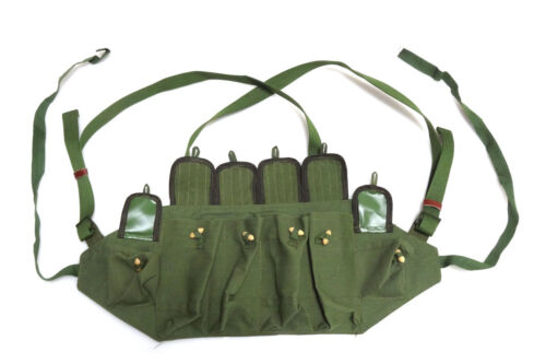 Chinese Army Type 81 Canvas Chest Rig Ammo Pouch Mag Vietnam War Repro Pouch