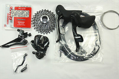 SALE!! NEW 2016 SRAM FORCE 22 Group Set Kit 11x28  cassette 11 speed 5pc