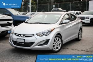 2014 Hyundai Elantra GL Heated Seats and Satellite Radio