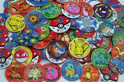 Pokemon 1St Generation   Lot Of 20 Differents   Pieces Pogs Tazos Taps Tasos