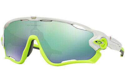 Oakley Gafas de Sol Pinza Breaker Pulido Blanco W/ Jade Iridio OO9290-03