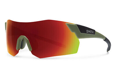 d803337ced Smith Cycling Glasses Pivlock Arena MAX Matte Olive - RED Chromapop 2 lens  kit