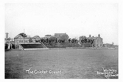 pt9337 - The Cricket Ground , Lofthouse , Yorkshire - photograph