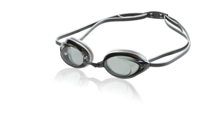 Speedo Vanquisher 2.0 Adult Competitive Swim Goggle, Smoke