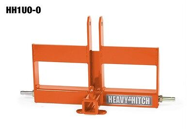 Category 1 3 Point Hitch Receiver With Offset Suitcase Weight Bracket-kubota