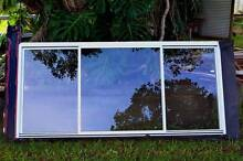 AS NEW White Aluminium double awning window, screens,locks, keys Maroochydore Maroochydore Area Preview