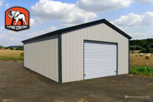 Metal Garage Building - 18